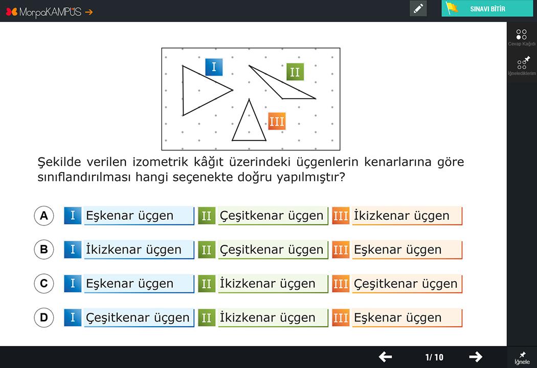 5. Sınıf Fen Bilimleri Test Sorusu