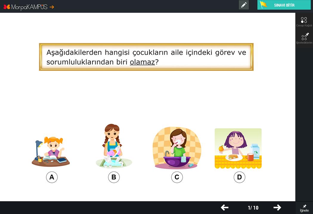 5. Sınıf İngilizce Test Soruları