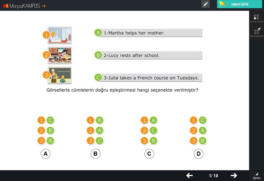 6. Sınıf Sosyal Bilgiler Test Sorusu