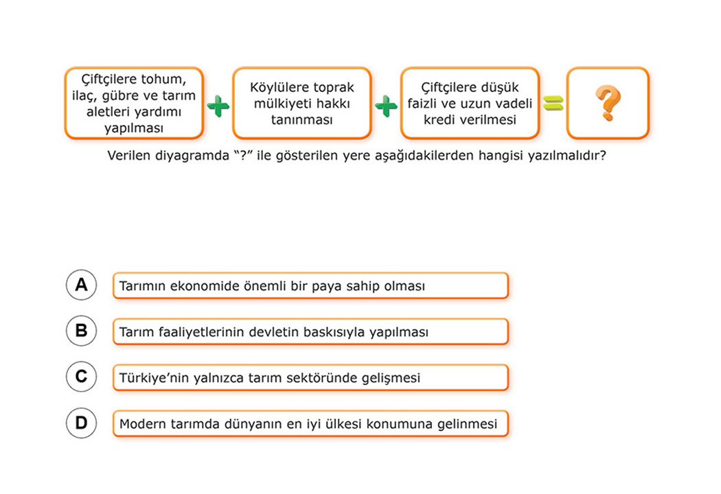 8. Sınıf TEOG Fen Bilimleri Soruları