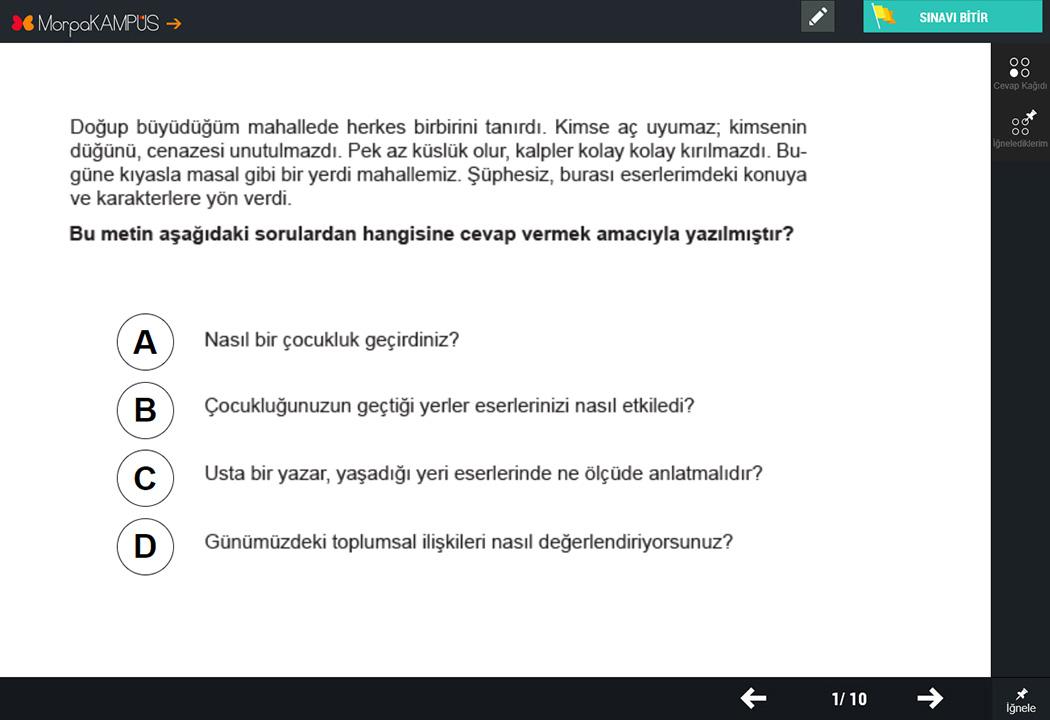 8. Sınıf TEOG Matematik Testleri