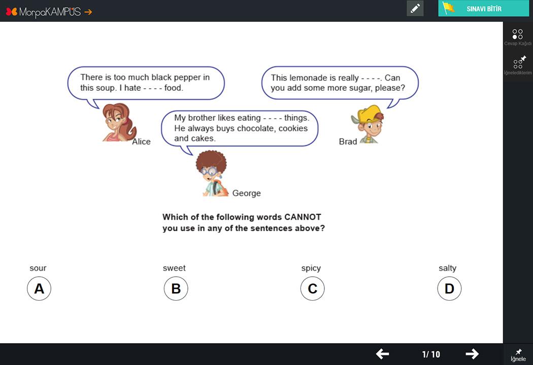 8. Sınıf TEOG Fen Bilimleri Testleri